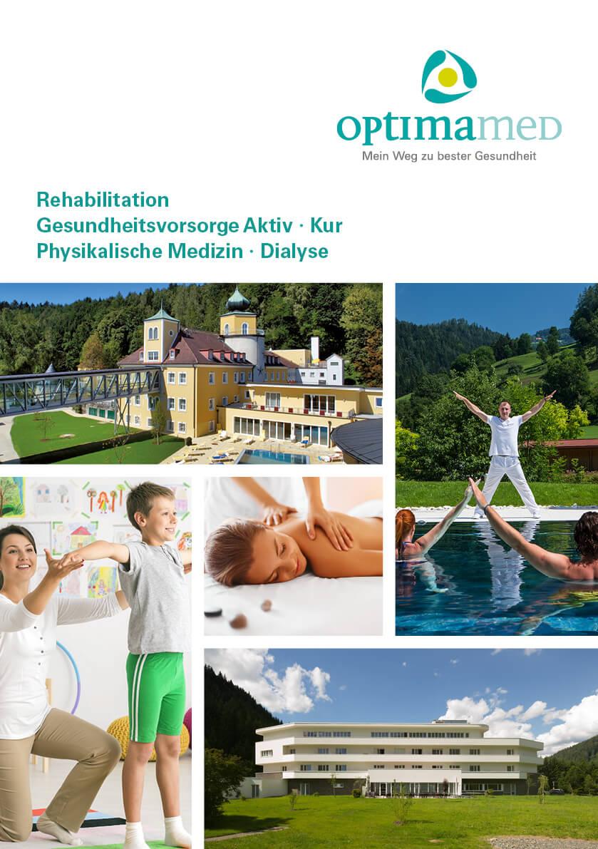 OptimaMed Imagefolder Gesundheit Reha Kur