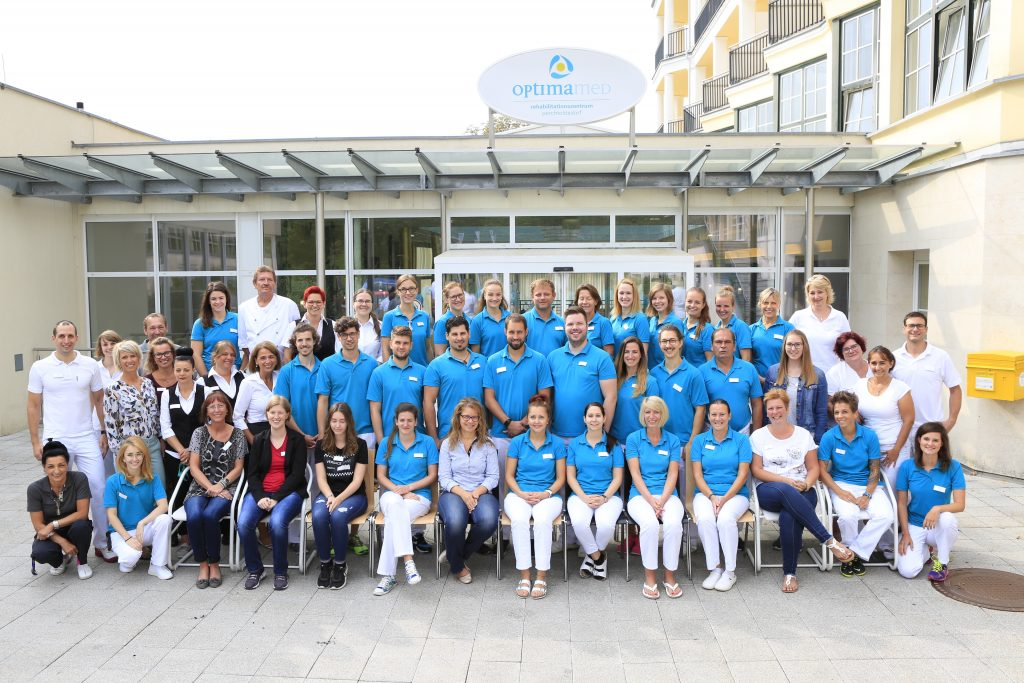 Team OptimaMed Rehaklinik Perchtoldsdorf