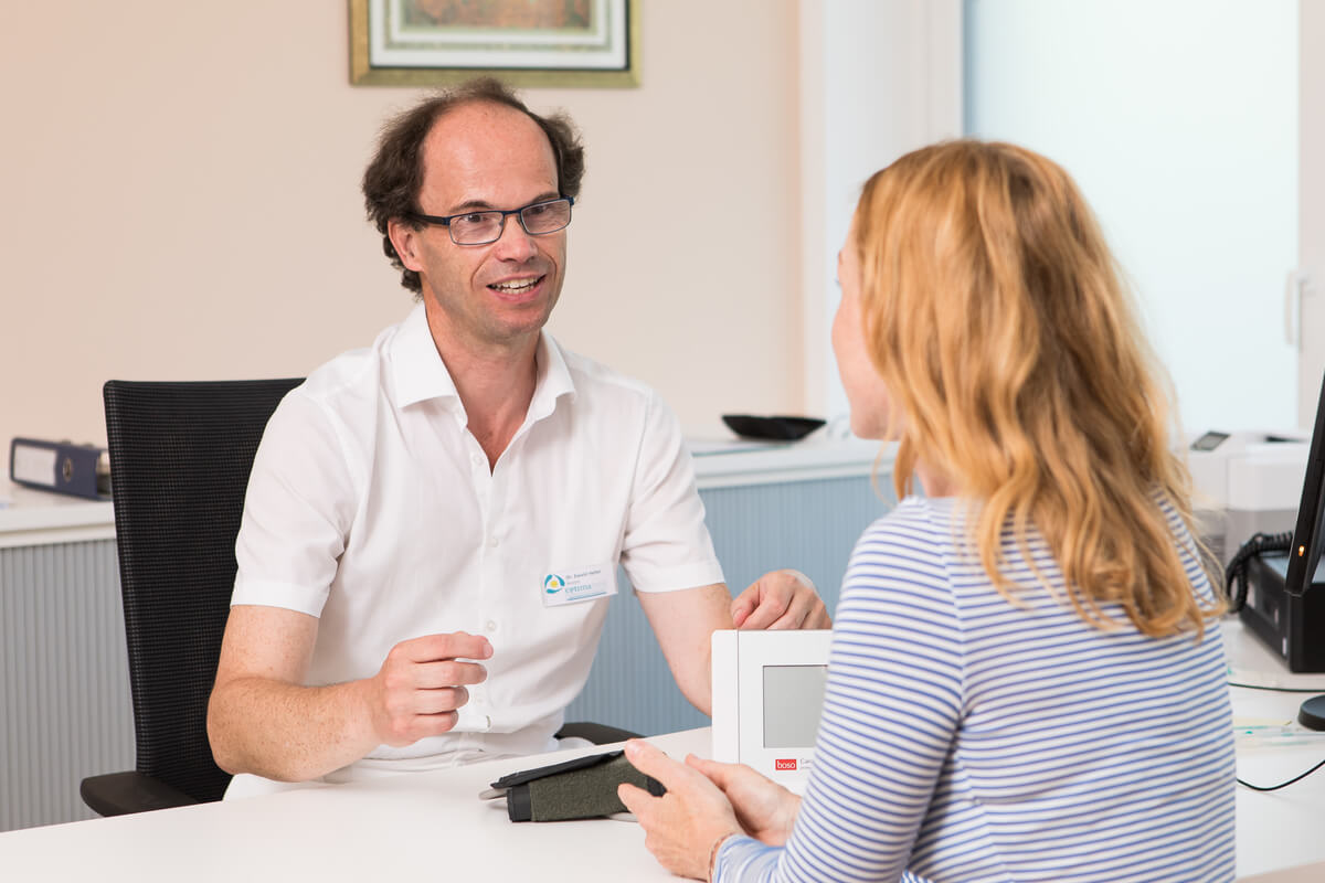 Arztgespräch Rehabilitation